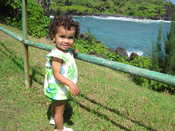 Road to Hana: Checking out the ocean