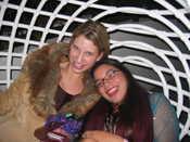 Birdcage Fun: Sara, Laura