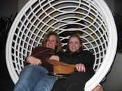 Birdcage Fun: Mel, Katie